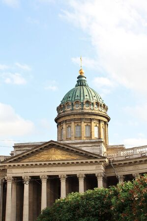 Kazan Cathedral in St  Petersburg is an architectural monument of Russian classicism  Built in 1801-1811