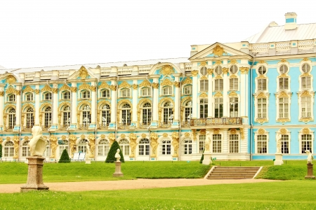 catherine: Catherine Palace was built in eighteenth century  as a summer residence of Empress Catherine I Editorial