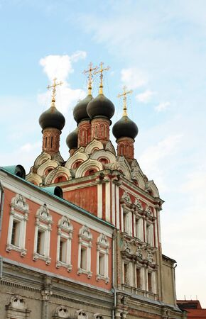 seventeenth: Domes of the orthodox church,  built in seventeenth century