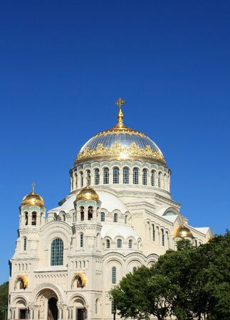 Orthodox Cathedral  Located in Kronstadt, built in 1913 by architect Vasily Kosyakov