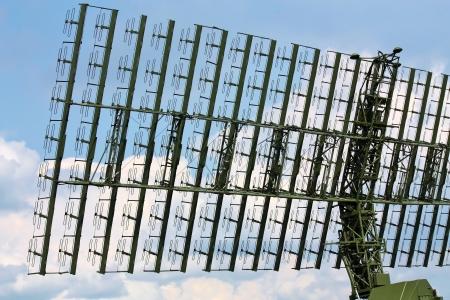 Military radar antenna for object
