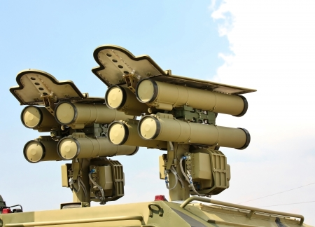 Mobile missile system  Designed to defeat tanks and other armored targets