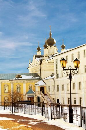 Construction of the Nicholas Ugreshsky monastery founded in 1380