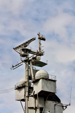 space antenna: Navy radar antenna complex for the space surveillance