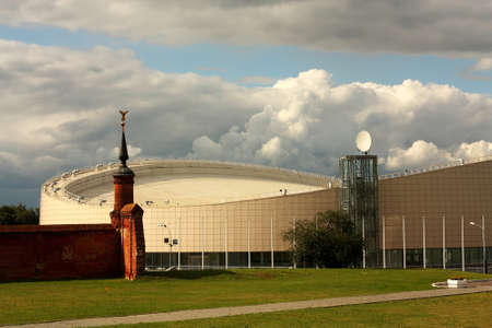 Modern sports complex for the organization of competitions in speed skating