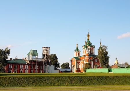 Cathedral of Holy Cross nunnery  in Kolomna Kremlin
