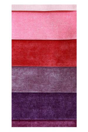 matter: Lagen van verschillende kleuren van de materie blootgesteld aan reclame Stockfoto