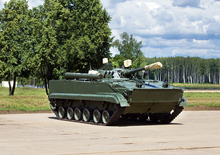 infantry: Infantry combat vehicle on the parking place