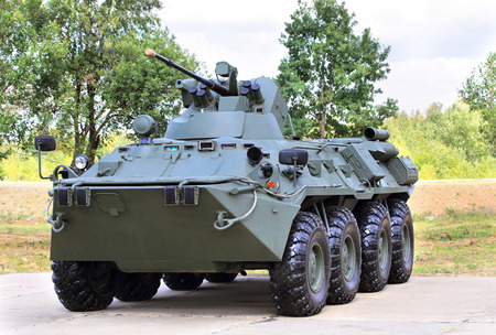 millimeter: Armoured  vehicle for infantery transportation with 30 millimeter cannon and machine gun Editorial