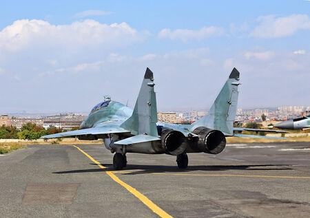 modern fighter: Moderno combattente russo poco prima del decollo