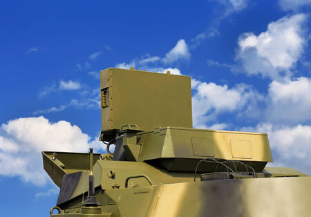 unmanned: All-around antenna for complex with unmanned aerial vehicle, made of phased array technology, on a rotating platform