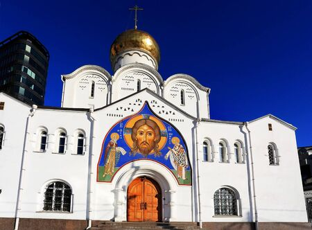 the believer: Nikolsky Old Believer church built in the early twenteeh century