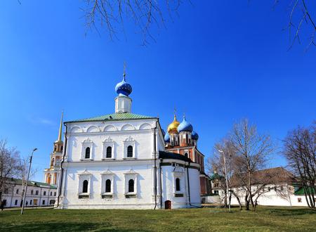 seventeenth: Current Orthodox Church of the seventeenth century in Ryazan Kremlin