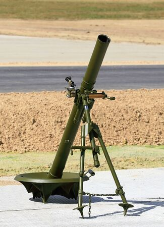 troops: Russian 82 mm mortar for the airborne troops
