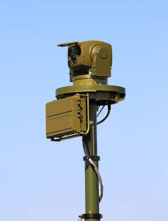 detection: Tactical device of the optical and electronic  surveillance and detection
