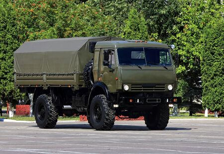 personnel: New military all terrain truck for the transportation of personnel
