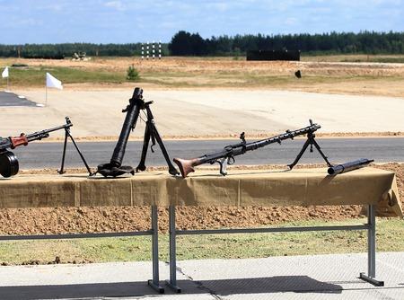 lightweight: Lightweight mortar and machine gun from World War II