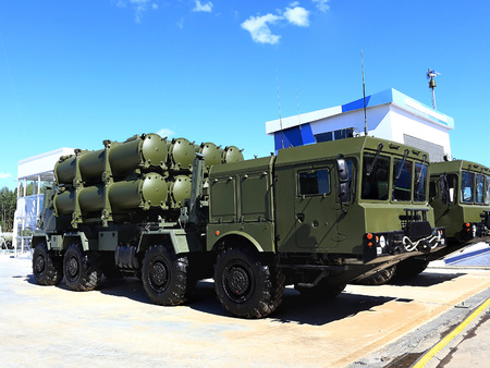 missiles: Mobile coastal missile system equipped with cruise missiles Editorial
