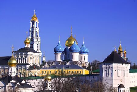 lavra: Holy Trinity Sergius Lavra is a monument of Russian architecture of the fifteenth century