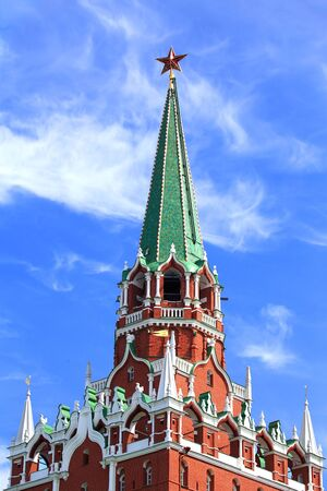 seventeenth: Moscow Kremlin tower built in the Byzantine style in the seventeenth century