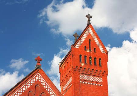 twentieth: Dome of the catholic Church of the early twentieth century Stock Photo