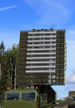 All-around antenna for air defense complex on a rotating platform Editorial