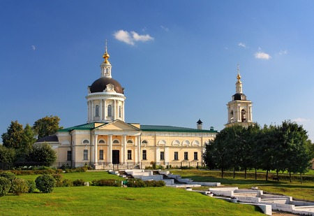 Church of St. Michael Archangel in Kolomna, built in the early nineteenth century