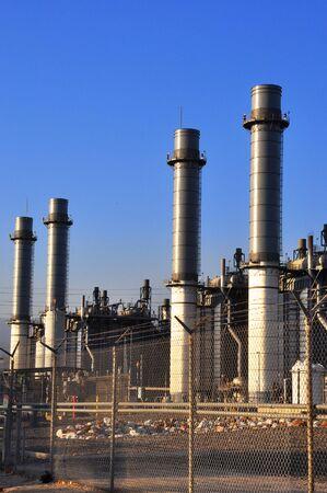 Electricity plant Imagens - 7470544