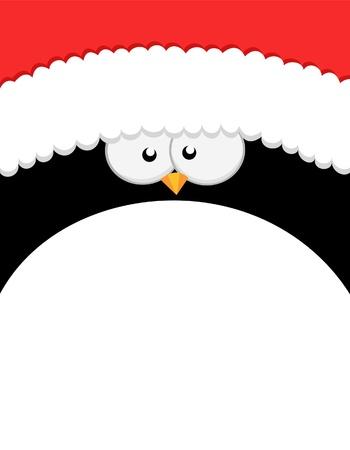 Grote Kerstmis Penguin