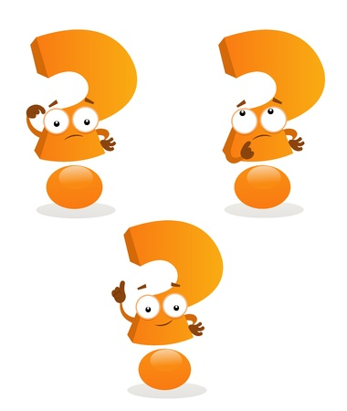 Question Marks Stock Vector - 12467688