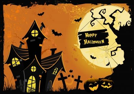 Halloween Poster Stock Vector - 15714623