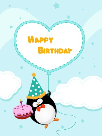 Birthday Message Vector