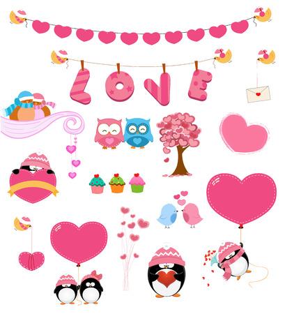 beanie: Love Set