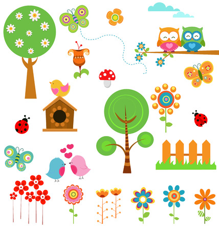 houses: Spring Set