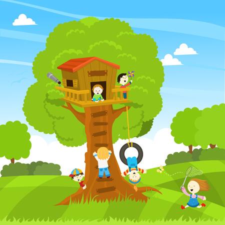 木の家 写真素材 - 39574552