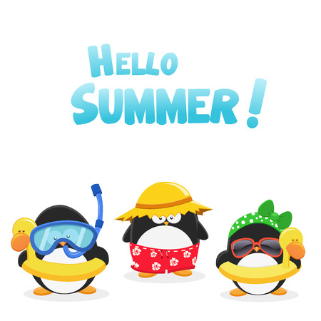Hello Summer Penguins