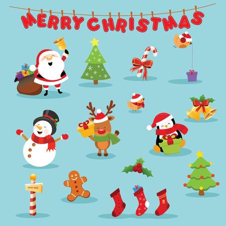 クリスマス セット 写真素材 - 67598744