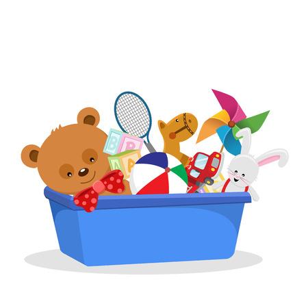 toy box Ilustracja