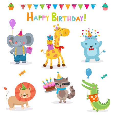 Cute Animals Birthday