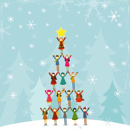 Christmas Tree People
