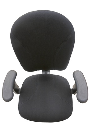 Office chair seen from above, isolated on white. Stock Photo - 8310786