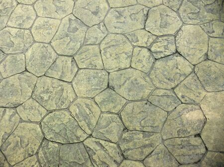 Background of paving tiles of natural rock photo