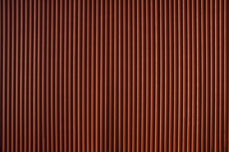 corrugated metal: Background of red corrugated iron