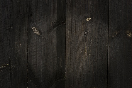 Background of old black weathered wooden wall Stock Photo - 10681169