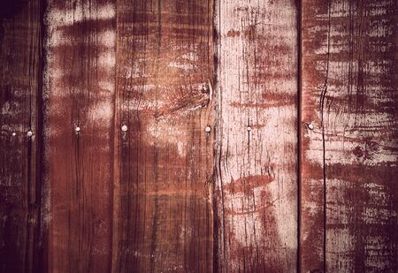 Background of vintage wooden wall with nails Stock Photo - 11888477