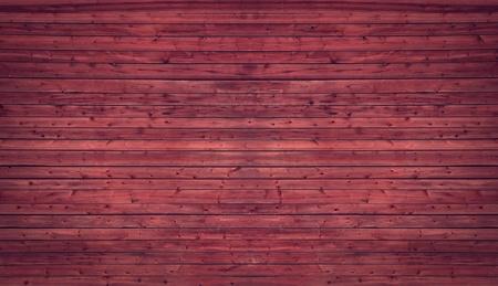 """TÅ'o Old Red wykoÅ""""czane Å›cianie drewnianej Zdjęcie Seryjne"""