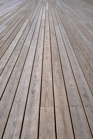knotting: background of light knotted wooden floor boards