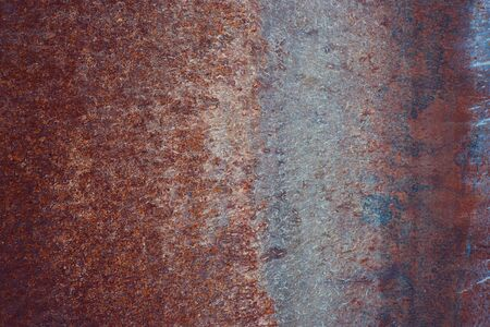 tatty: rusty grunge textured vintage metal background Stock Photo