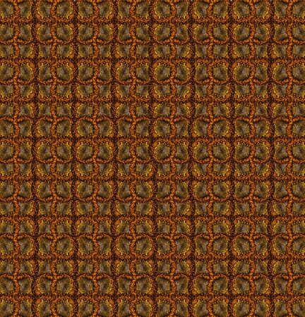 creates: Background pattern based on center of sunflower  Creates illution of a rug