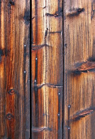 knotting: Background of weathered textured knotted old wood Stock Photo